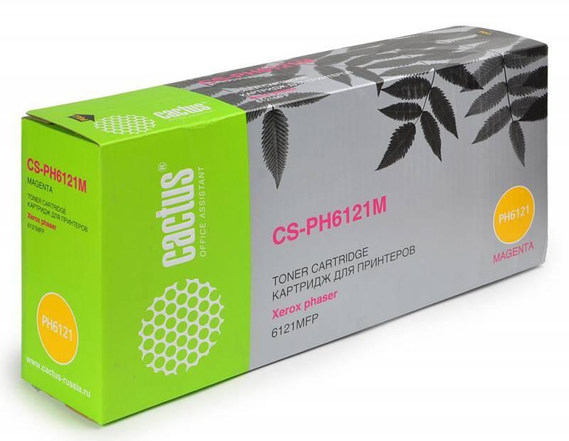цена на Картридж Cactus CS-PH6121M для Xerox Phaser 612 пурпурный 2600стр