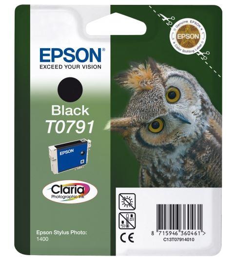 Картридж Epson C13T07914010 для Epson Stylus Photo 1500W черный картридж epson c13s050167 для epson epl6200 6200l черный 3000стр