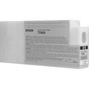 Картридж Epson C13T596900 для Epson Stylus Pro 7700/7900/9700/9900 светло-черный 350мл картридж epson c13t596500 для epson stylus pro 7700 7900 9700 9900 светло голубой 350мл