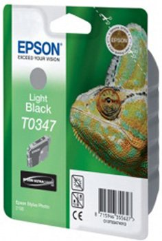Картридж Original Epson [T034740] для Epson Stylus Photo 2100 Light Black картридж epson t009402 для epson st photo 900 1270 1290 color 2 pack