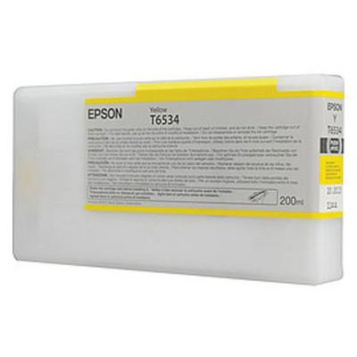 Картридж Epson C13T653400 для Epson Stylus Pro 4900 желтый original cc03main mainboard main board for epson l455 l550 l551 l555 l558 wf 2520 wf 2530 printer formatter