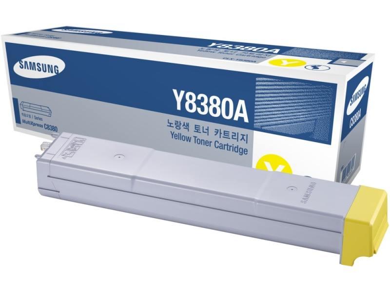 Картридж Samsung CLX-Y8385A для 8385ND желтый samsung clx m8385a magenta