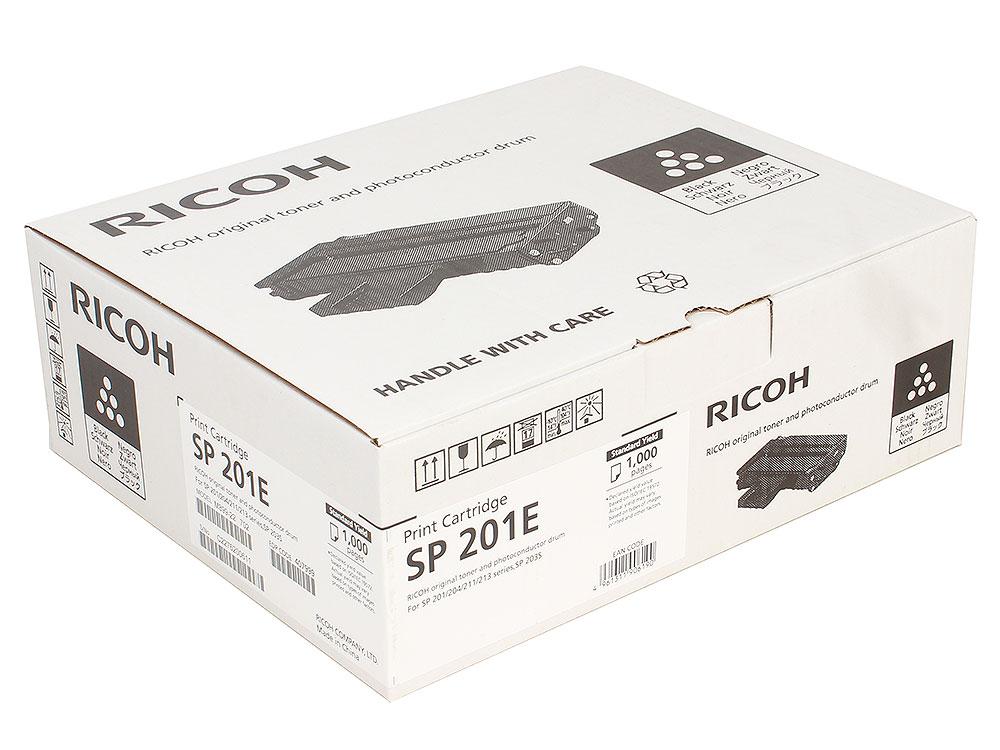 Фото - Принт-картридж Ricoh SP 201E для SP220Nw/SP220SNw/SP220SFNw. Чёрный. 1000 страниц. принт картридж ricoh sp 201he для sp211su sp213sfnw sp220nw sp220snw sp220sfnw чёрный 2600 страниц