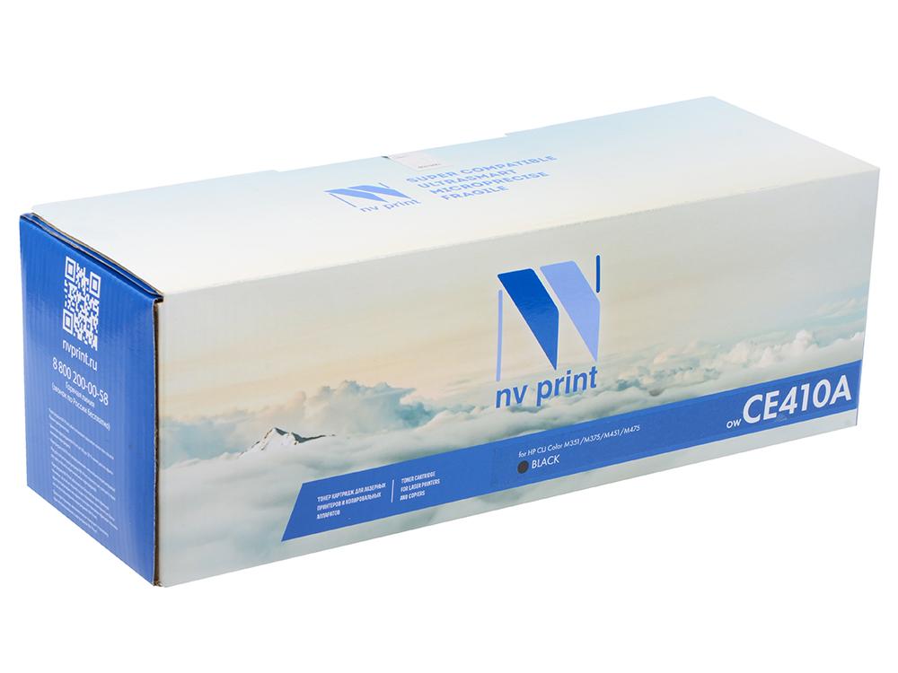 Картридж NV-Print CE410A черный (black) 2200 стр. для HP Color LaserJet Pro 400 M451/351/375/475 картридж nv print q7516a для hp lj 5200 5200dtn 5200l 5200tn 5200n 5200lx