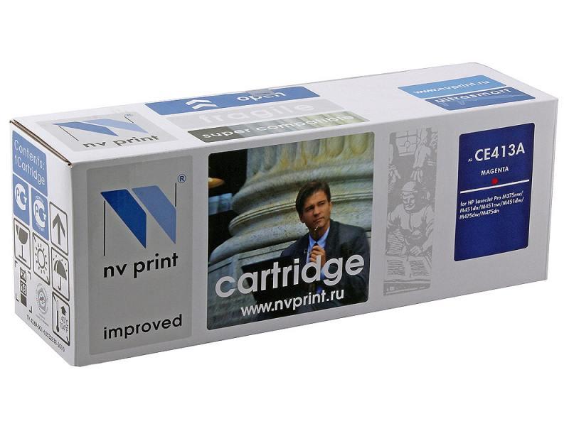 Картридж NV-Print CE413A пурпурный для HP CLJ M351a M375nw