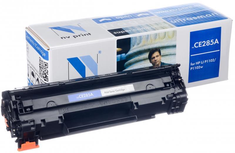 Картридж NV-Print CE285X черный (black) 2300 стр. HP LaserJet Pro P1102 / P1102w / M1132 / M1212nf / М1217