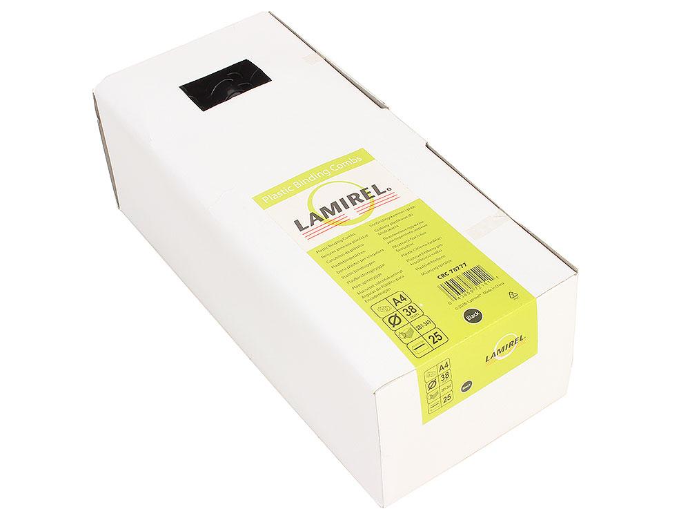 Пружина пластиковая Lamirel, 38 мм. Цвет: черный, 25 шт., шт стелька omaking ароматизированная влагопоглощающая цвет черный 2 шт t111 39 размер 38 39