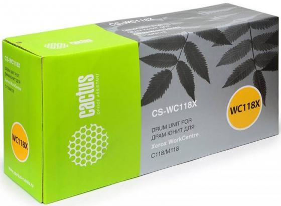 Тонер-картридж Cactus CS-WC118XR 006R01179/013R00589 для Xerox WC C118/M118 черный 60000стр