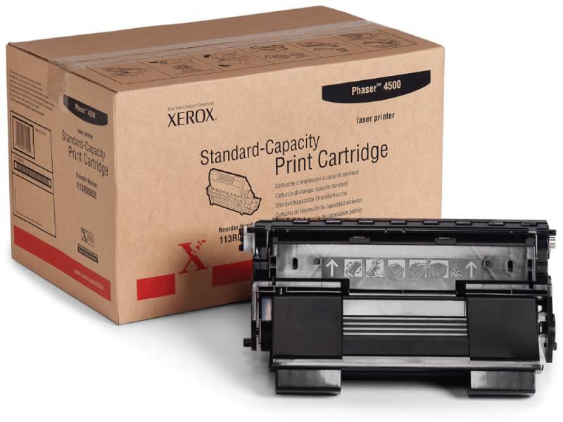 Тонер-картридж Xerox 113R00656 для Phaser 4500 черный 10000стр