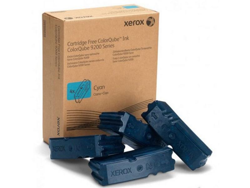 Набор твердочернильных брикетов xerox 108r00837 для colorqube 9201/02/03 / 9301/02/03 голубой 4шт по