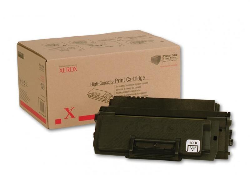 Тонер-Картридж Xerox 106R00688 для Phaser 3450 черный 10000стр