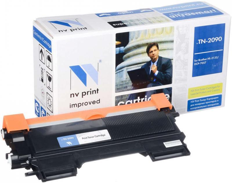 Картридж NV-Print TN-2090/TN-2275 черный (black) 2500 стр. для Brother HL-2132/2240/2250 / DCP-7057/7060 картридж для принтера nv print для hp cf403x magenta