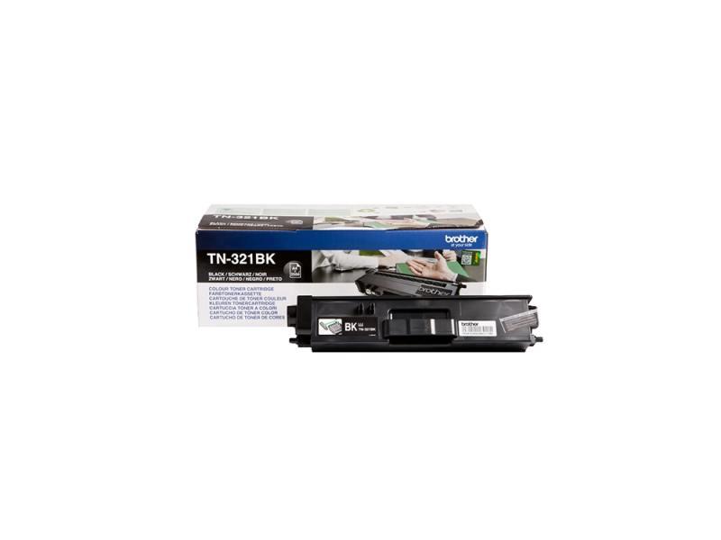 Картридж Brother TN-321BK для HL-L8250CDN MFC-L8650CDW черный 2500стр картридж brother tn 321m для hl l8250cdn mfc l8650cdw пурпурный 1500стр