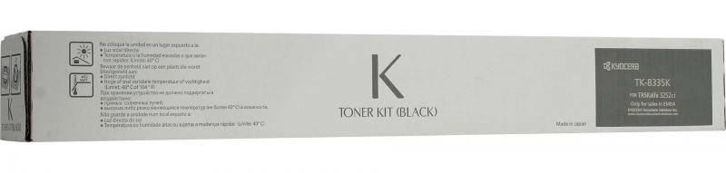 Картридж Kyocera TK-8335K для Kyocera TASKalfa 3252ci черный 25000стр картридж kyocera tk 8335m для kyocera taskalfa 3252ci пурпурный 15000стр