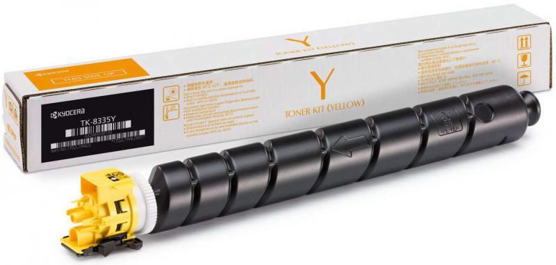 Картридж Kyocera TK-8335Y желтый (yellow) 15000стр. для Kyocera TASKalfa 3252ci картридж kyocera tk 8335m для kyocera taskalfa 3252ci пурпурный 15000стр