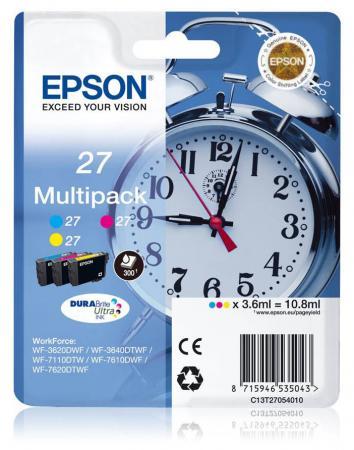 Картридж Epson C13T27154022 для Epson WF7110/7610/7620 цветной 1100стр