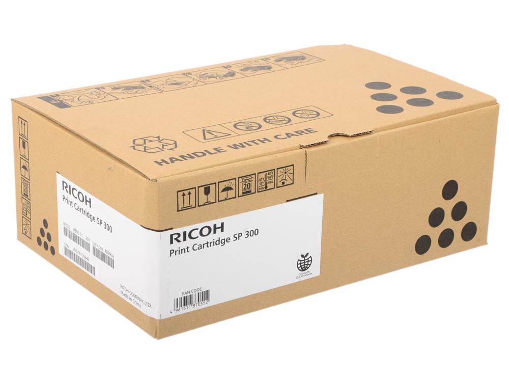 Картридж Ricoh SP 300 для Aficio SP 300DN черный 1500стр 406956 ricoh aficio sp 3510sf