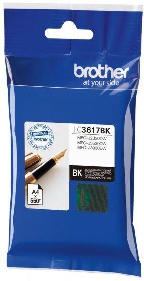 Картридж Brother LC3617BK черный (black) 550стр для Brother MFC-J3530DW/J3930DW