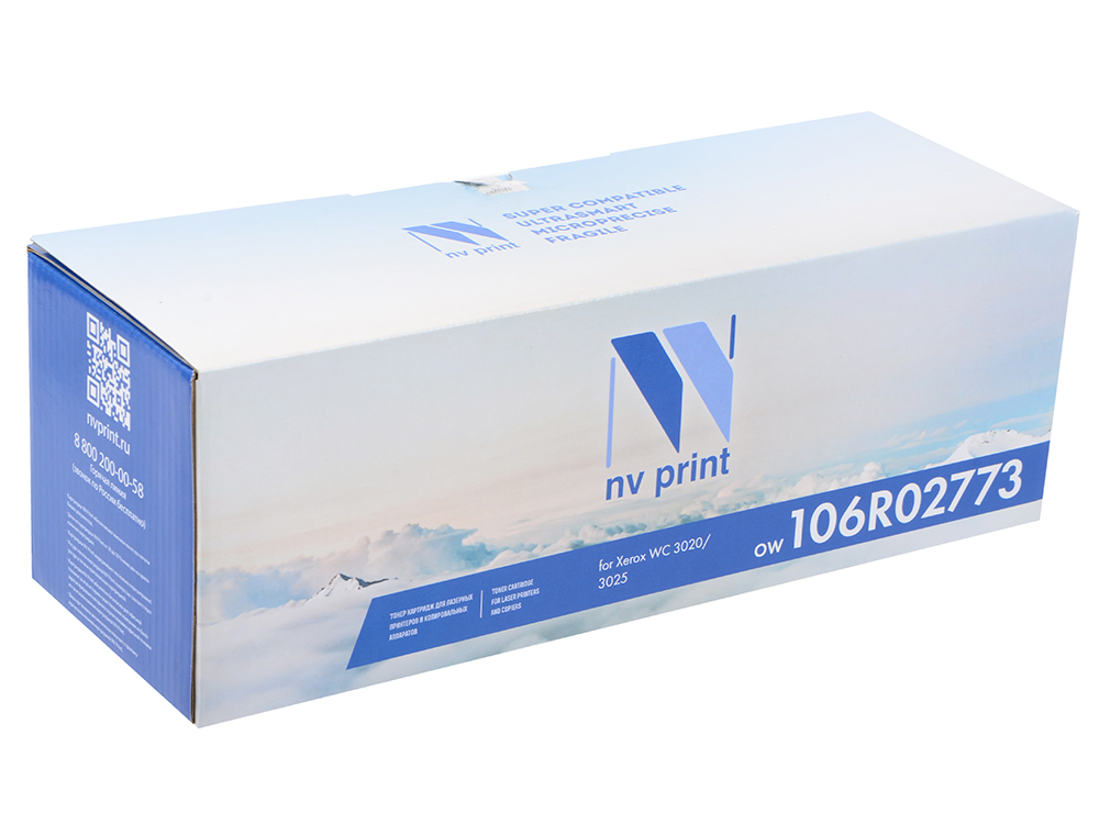 Картридж NV-Print 106R02773 для Xerox Phaser 3020/WorkCentre 3025 черный 1500стр картридж nv print 106r02773 для xerox phaser wc 3020 3025