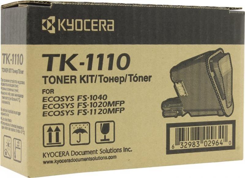 Картридж Kyocera TK-1110 черный (black) 2500 стр для Kyocera FS-1040/1120MFP/1020MFP цена