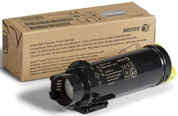 Картридж Xerox 106R03695 для Phaser 6510/WC 6515 желтый 4300стр картридж xerox 106r03694 для phaser 6510 wc 6515 пурпурный 4300стр