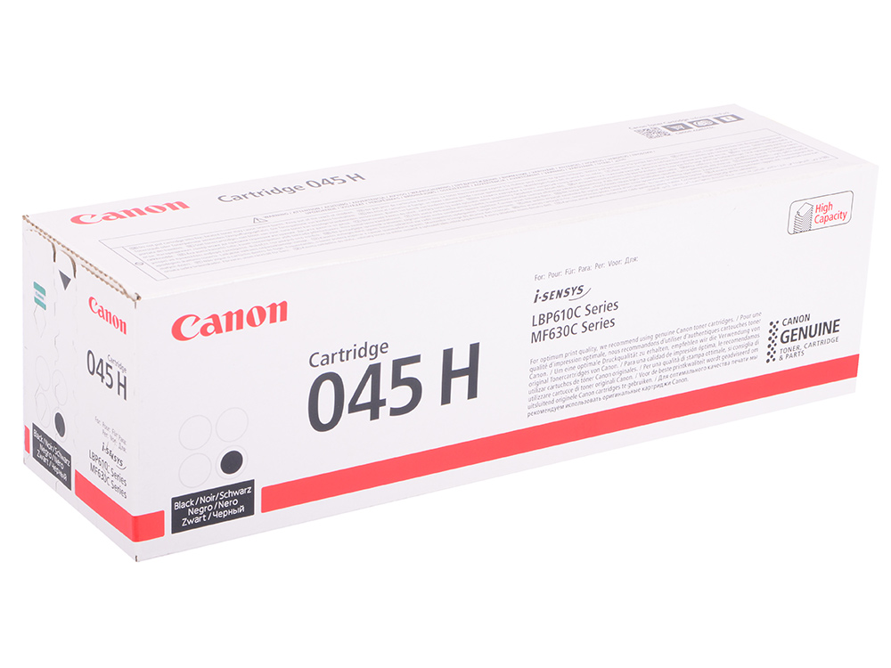 Картридж Canon 045Bk H чёрный (black) 2800 страниц. для i-SENSYS MF631/633/635, LBP611 isdt cp 16027 160w 27v xt60 output active pfc power supply adapter