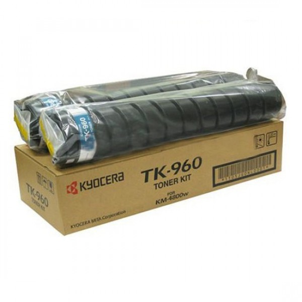 Тонер Kyocera Mita TK-960 черный (black) 2500 стр для Kyocera KM-4800w / TASKalfa 4820w new original kyocera 302h025011 frame fuser right for km 3060 3040 2560 2540 ta300i