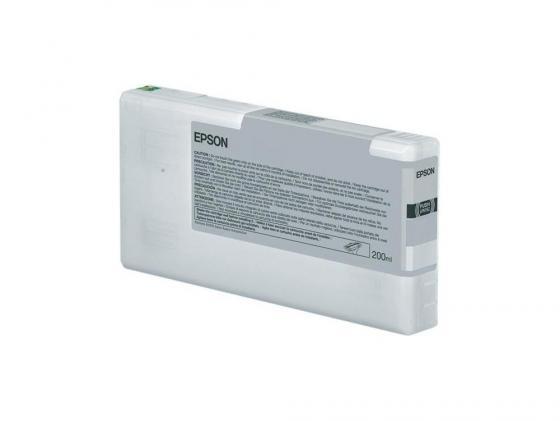Картридж Epson C13T653500 для Epson Stylus Pro 4900 светло-голубой 200мл картридж epson original t08254a для r270 390 rx590 светло голубой c13t11254a10