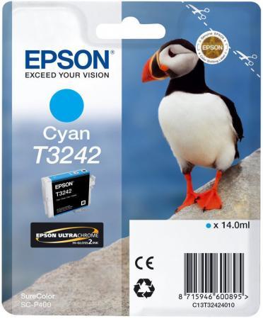 Картридж Epson C13T32424010 для Epson SC-P400 голубой картридж epson t009402 для epson st photo 900 1270 1290 color 2 pack