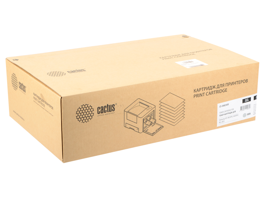 Картридж Cactus CS-S4824SV для Samsung SCX-4824FN/4828FN/ML-2855 черный 5000стр tpsmhd u black laser printer toner powder for samsung mlt d209s d209 209s 209 scx 4828fn scx 2855 cartridge 1kg bag free fedex