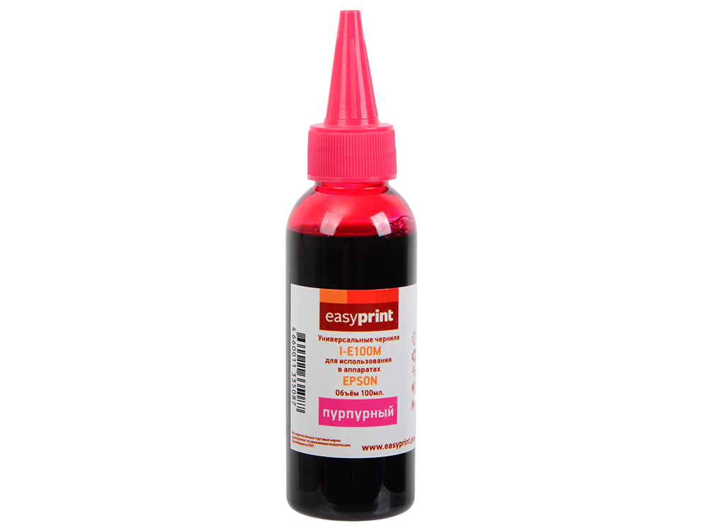 Чернила I-E100M универсальные для Epson (100мл.) пурпурный Easyprint