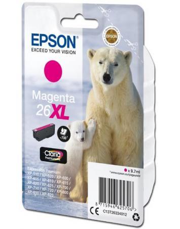 Картридж Epson C13T26334012 для Epson XP600/7/8 пурпурный 700стр original cc03main mainboard main board for epson l455 l550 l551 l555 l558 wf 2520 wf 2530 printer formatter