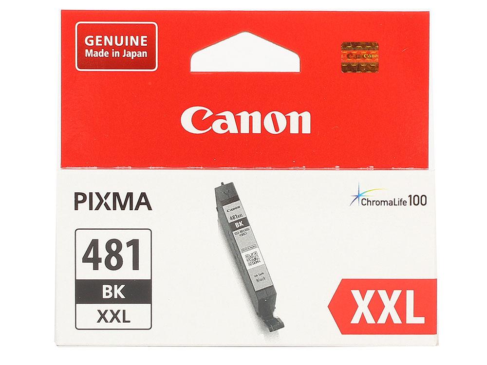 Картридж Canon CLI-481XXL BK EMB для TS6140/TS8140/TS9140/TR8540. Чёрный. 6360 страниц.