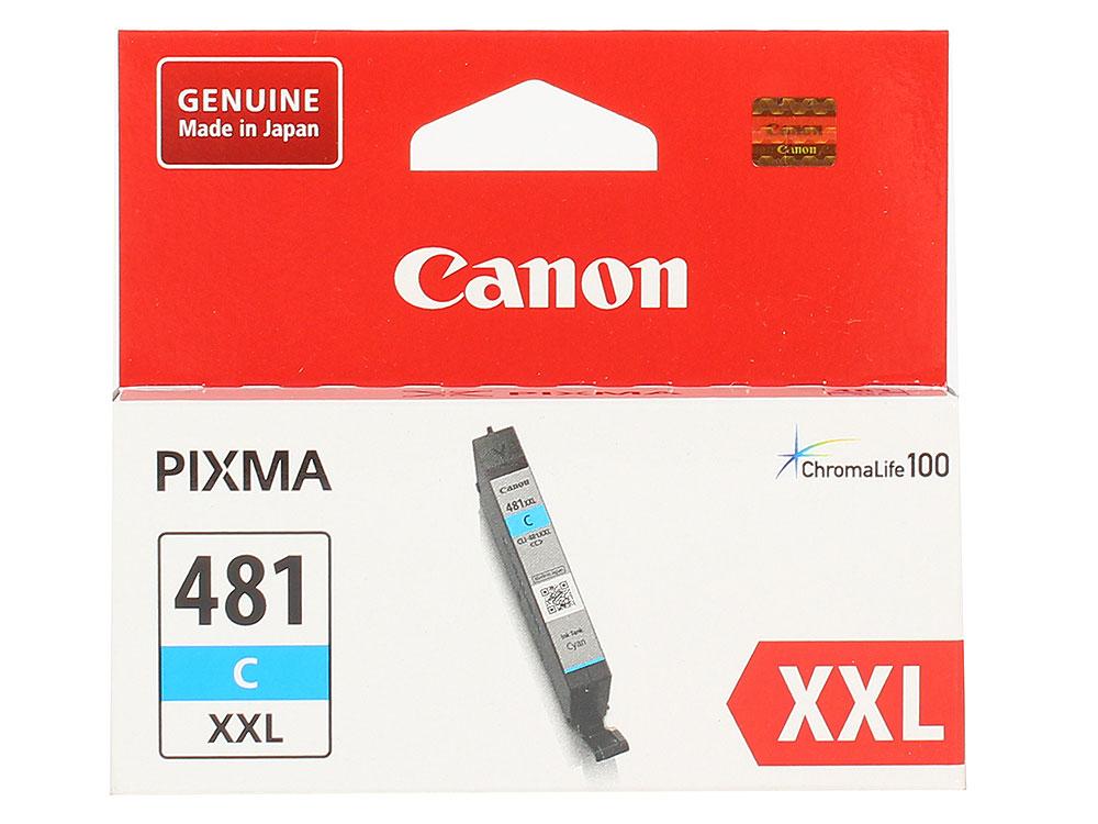 Картридж Canon CLI-481XXL C EMB для TS6140/TS8140/TS9140/TR8540. Голубой. 820 страниц. цены онлайн