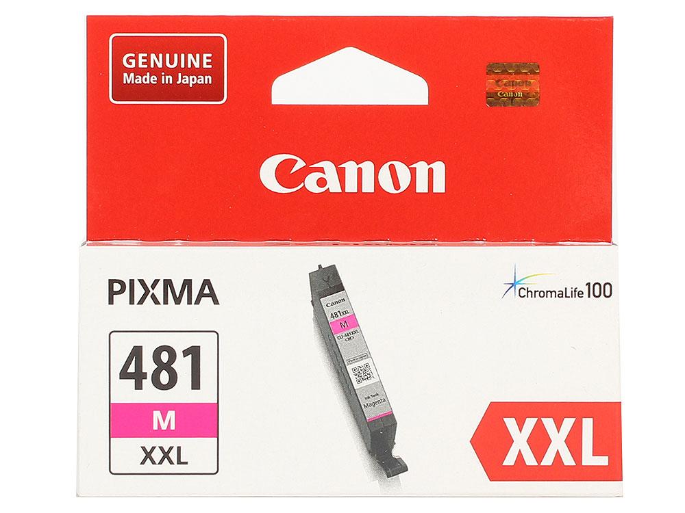 Картридж Canon CLI-481XXL M EMB для TS6140/TS8140/TS9140/TR8540. Пурпурный. 760 страниц. картридж cactus cli 426c m y cs cli426c m y