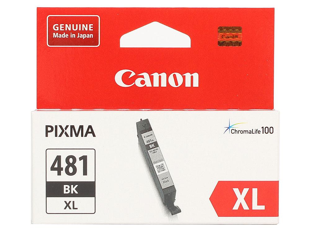 Картридж Canon CLI-481XL BK EMB для TS6140/TS8140/TS9140/TR8540. Чёрный. 2280 страниц. картридж canon cli 481xl для canon pixmats8140ts ts9140 1010568 голубой