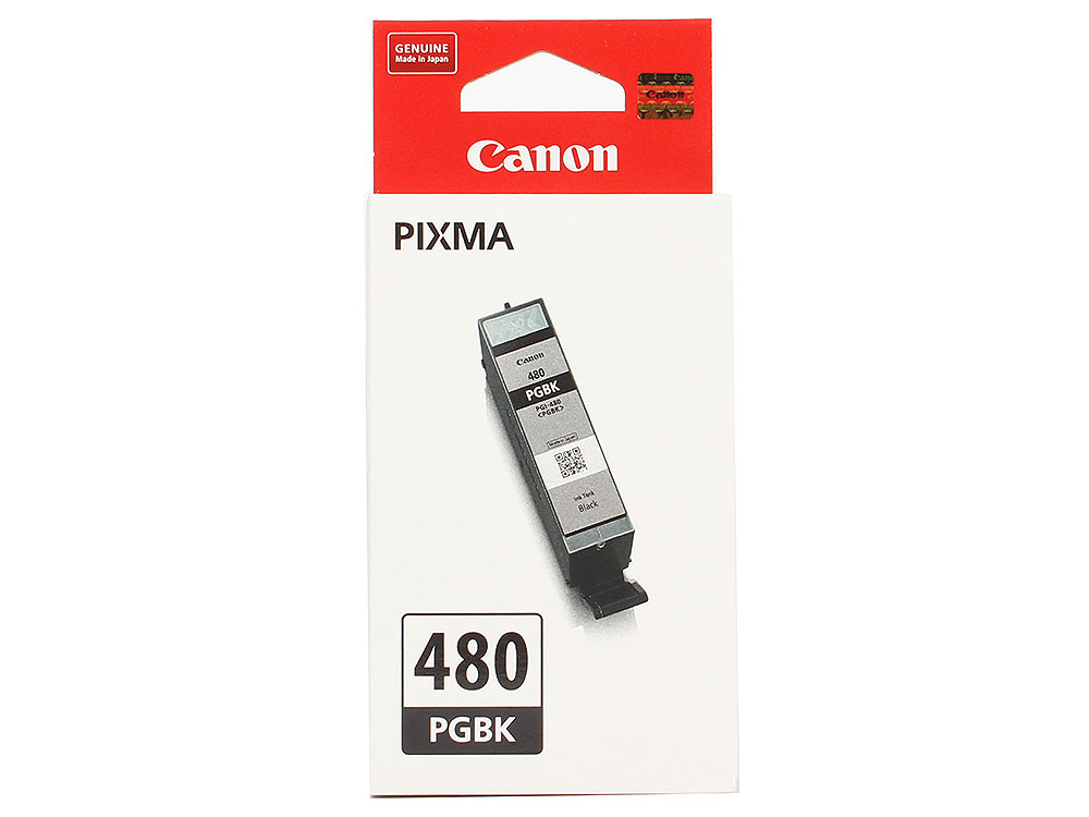 Картридж Canon PGI-480 PGBK EMB для TS6140/TS8140/TS9140/TR8540. Пигментный чёрный. 200 страниц. картридж canon pgi 480 pgbk 2077c001 для canon pixma ts6140 ts8140ts ts9140 tr7540 tr8540 черный