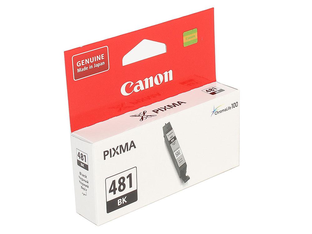 Картридж Canon CLI-481 BK EMB для TS6140/TS8140/TS9140/TR8540. Чёрный. 750 страниц. картридж canon cli 481c для ts6140 tr7540 tr8540 ts8140 ts9140 голубой
