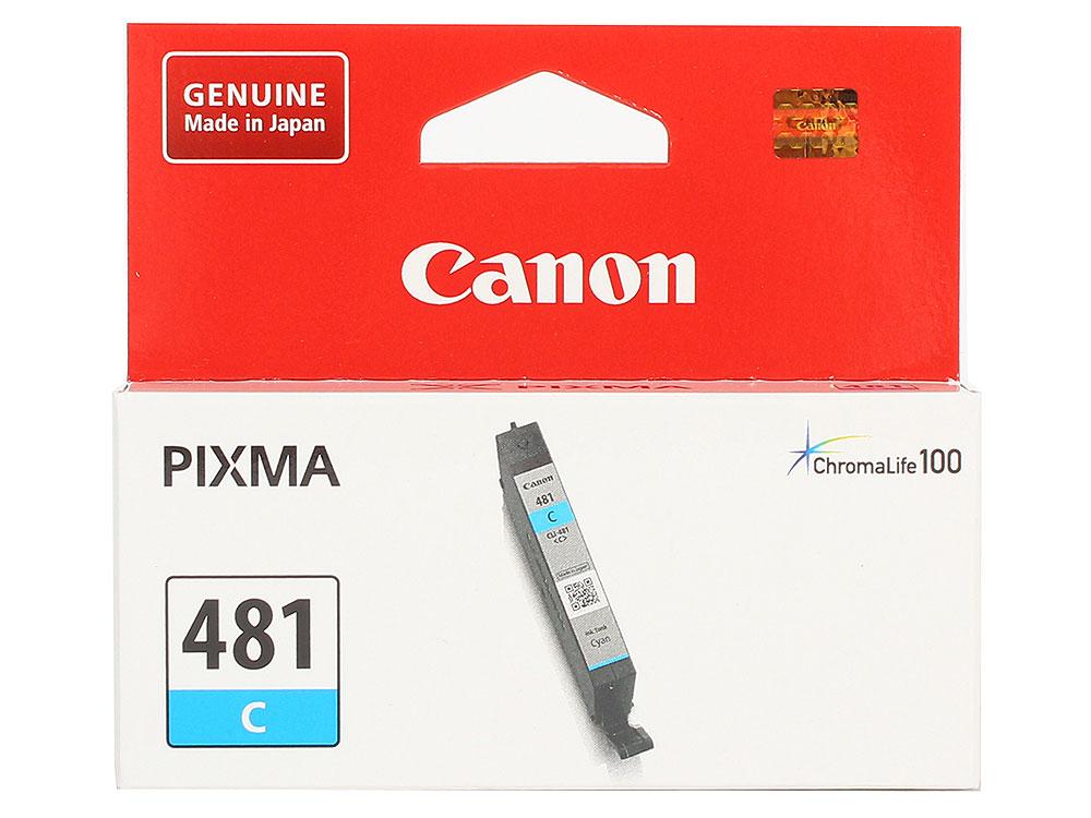 Картридж Canon CLI-481 C EMB для TS6140/TS8140/TS9140/TR8540. Голубой. 259 страниц. картридж для принтера colouring cg cli 426c cyan