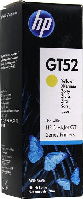 Ёмкость с чернилами HP M0H56AE (GT52) Жёлтый 8000 страниц для HP DeskJet GT 5810, 5820 мфу hp deskjet gt 5820 aio
