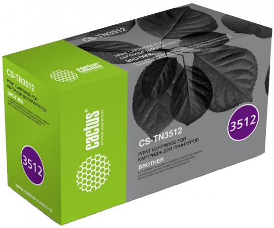 Картридж Cactus CS-TN3512 для Brother DCP L6600DWHL/L6250DNHL/L6300DWHL/L6400DWHL/L6400DWTMFC/L6800D утюг clatronic db 3512