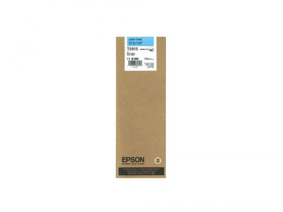 Картридж Epson C13T591500 T5915 для Epson Stylus Pro 11880 голубой original cc03main mainboard main board for epson l455 l550 l551 l555 l558 wf 2520 wf 2530 printer formatter