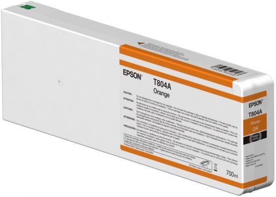 Картридж Epson C13T804A00 для Epson CS-P7000 оранжевый для Epson SureColor SC-P7000/P9000