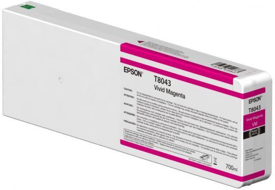 Картридж Epson C13T804300 для Epson CS-P6000 пурпурный картридж c13t804300 magenta