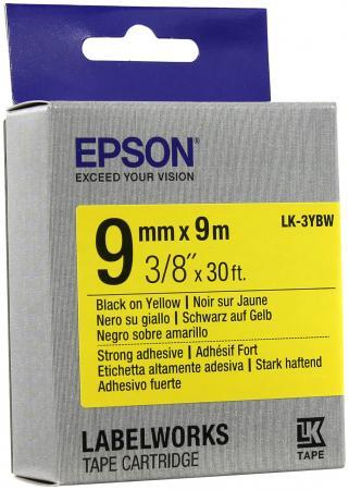 Лента Epson LK-3YBW C53S653005 itech lk 207