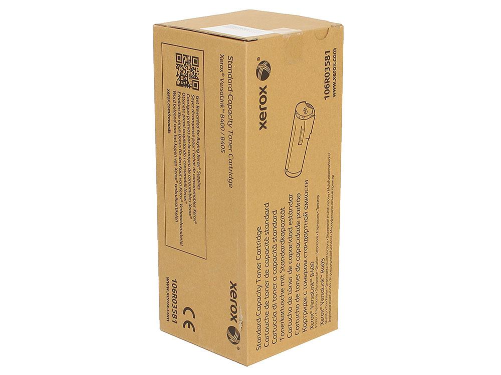 Картридж Xerox 106R03581 черный (black) 5900 стр. для Xerox VersaLink B400/405 картридж xerox 106r02737 черный black 6100 стр для xerox wc3655