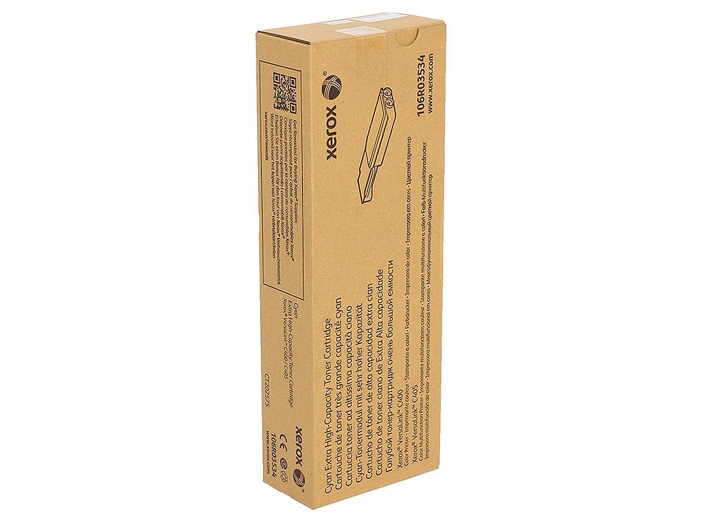 Картридж Xerox 106R03534 голубой (cyan) 8000 стр. для Xerox VersaLink C400/405 картридж xerox 106r03523 пурпурный magenta 4800 стр для xerox versalink c400 405