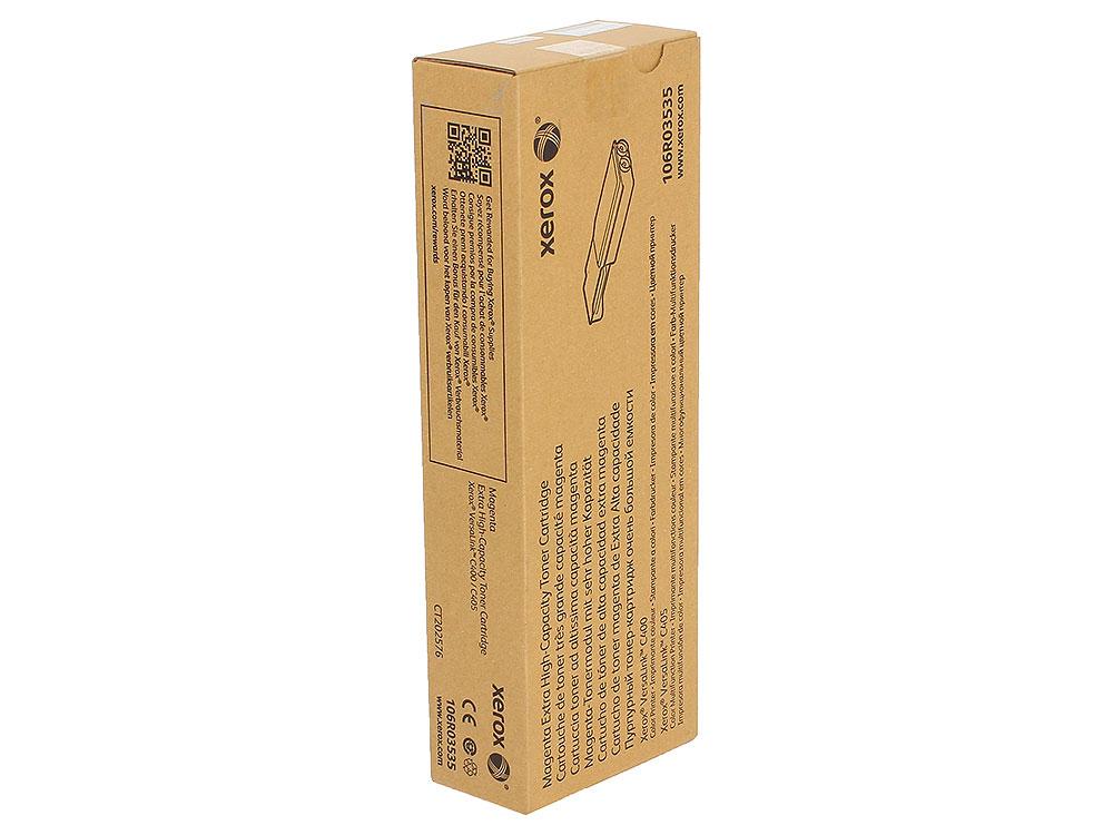 Картридж Xerox 106R03535 пурпурный (magenta) 8000 стр. для Xerox VersaLink C400/405 картридж xerox 106r03534 голубой cyan 8000 стр для xerox versalink c400 405