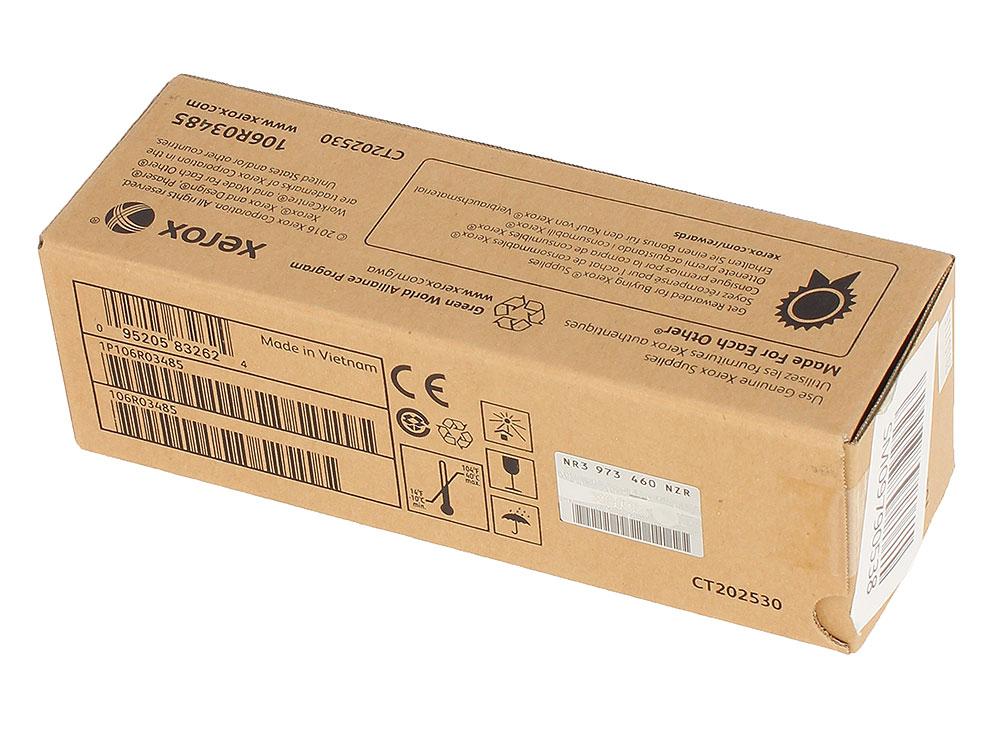 Картридж Xerox 106R03485 голубой (cyan) 2400 стр. для Xerox P6510/WC6515 картридж xerox 106r03484 черный black 2500 стр для xerox p6510 wc6515