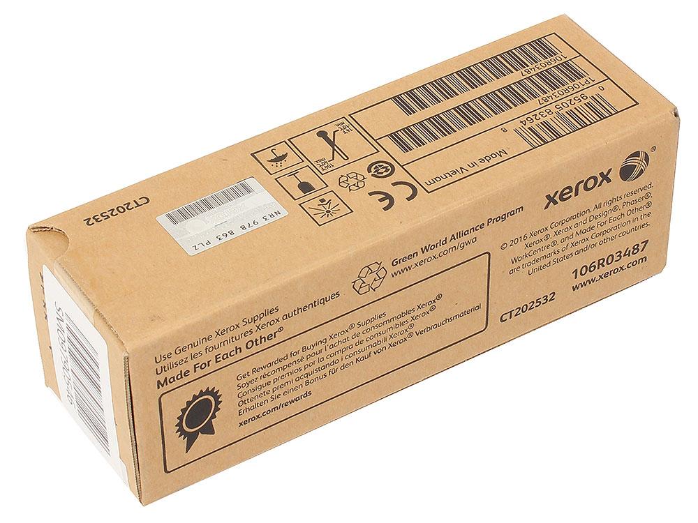 Картридж Xerox 106R03487 желтый (yellow) 2400 стр. для Xerox P6510/WC6515 картридж xerox 106r01633 желтый